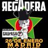 """LA REGADERA ESTE VIERNES EN MADRID. GIRA """"TROVADORES""""."""