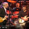 """Momentos historicos: Mark Knopfler, Eric Clapton, Sting y Phil Collins tocando """"Money for Nothing"""""""