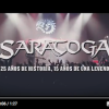 "SARATOGA: NUEVO DVD ""25/15, EL DOCUMENTAL"". PROXIMAS FECHAS."
