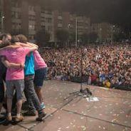 LA REGADERA triunfan en Miranda de Ebro y siguen con su gira.