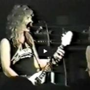 Momentos historicos: METALLICA y sus inicios con Dave Mustaine