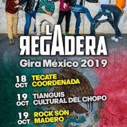 LA REGADERA anuncia gira por Mexico y nuevas fechas