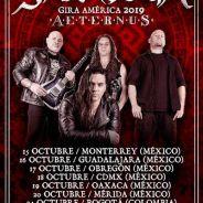 SARATOGA vuelve a Mexico y Colombia para presentar «Aeternus»