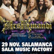ARS AMAND tocaran el viernes en Salamanca. Lanzan «Track by track» de su nuevo album