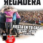 LA REGADERA: concierto de aniversario online el 30 de julio