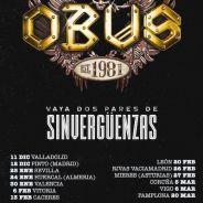 """OBUS: Primeras fechas de la gira """"VAYA DOS PARES DE SINVERGUENZAS"""""""