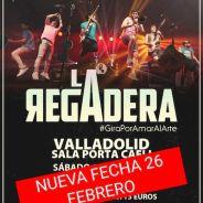 LA REGADERA: No te pierdas el genial videoclip de «Largo Invierno». Cambio de fecha en Valladolid.