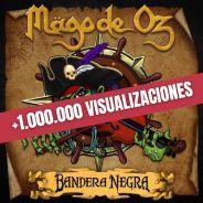 MAGO DE OZ: Casi cinco millones de visualizaciones de los adelantos de «Bandera Negra»