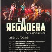 LA REGADERA confirman nueva gira europea