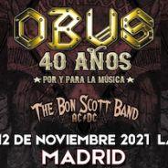 OBUS arrancan su gira de 40 Aniversario. Primeras fechas confirmadas.